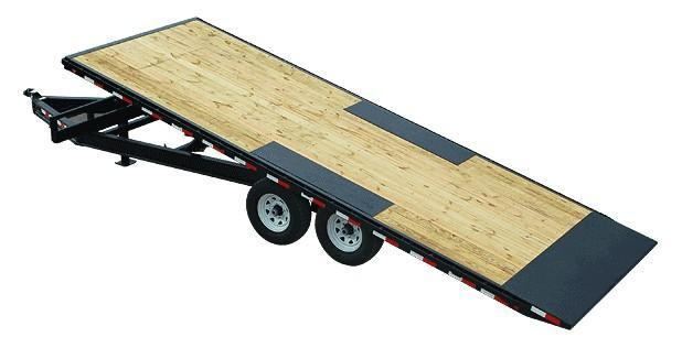 2020 8.5x22 PJ Trailers Deckover Tilt (T8) Equipment Trailer