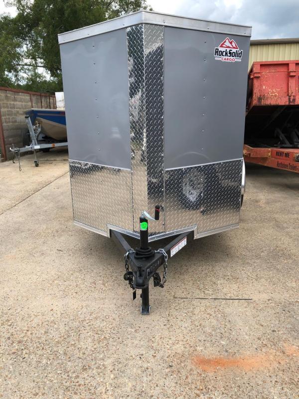 2020 Rock Solid Cargo 5x8 SA Enclosed Cargo Trailer