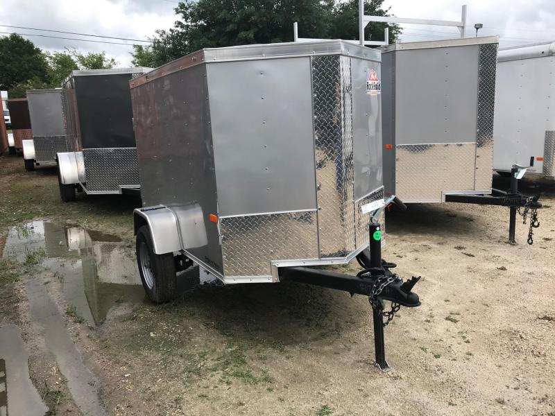 2020 Rock Solid Cargo 4x6 SA VN Enclosed Cargo Trailer