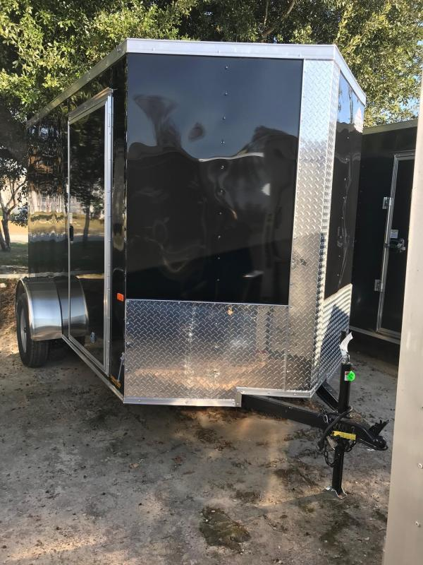 2020 Rock Solid Cargo 6x10 SA VN Enclosed Cargo Trailer