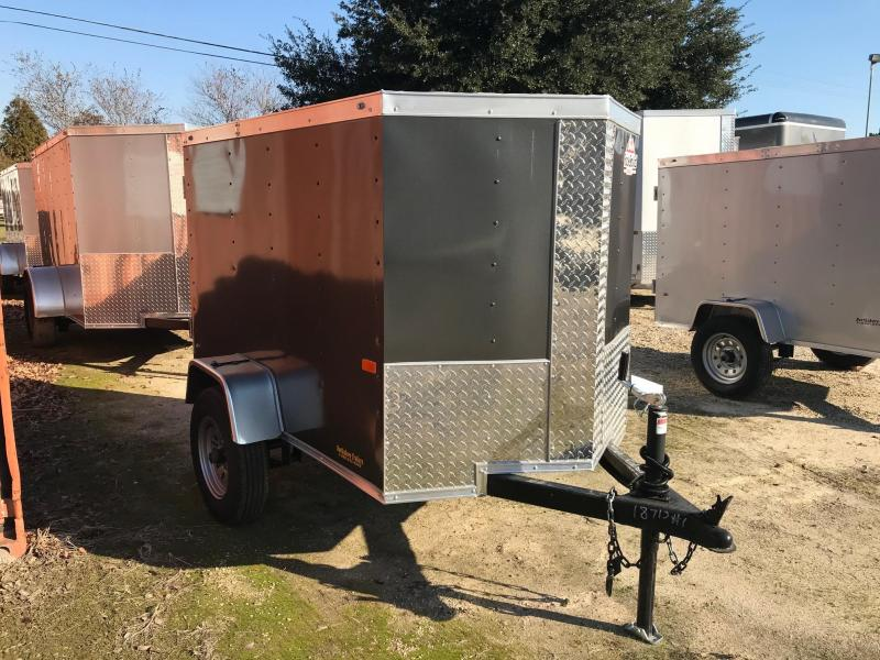 2020 Rock Solid Cargo 4x6 SA VN Enclosed Cargo Trailer