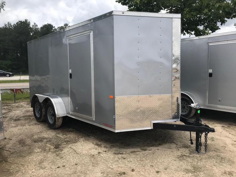 2020 Rock Solid Cargo 7x14 TA VN Enclosed Cargo Trailer