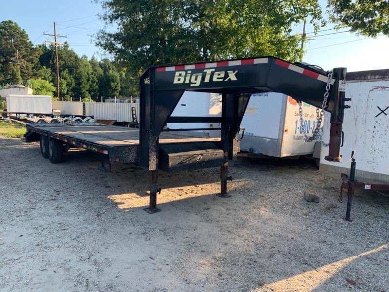 2017 8x20+5 Big Tex Trailers 14GN-20+5 Equipment Trailer