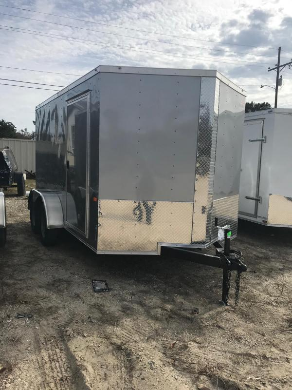 2020 Rock Solid Cargo 7x12 TA VN Enclosed Cargo Trailer