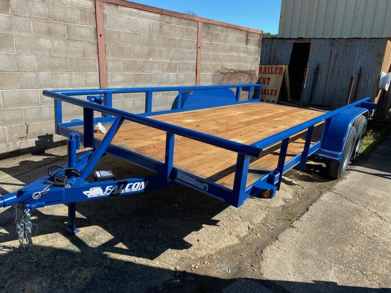 2020 Falcon 16x06.05 Industrial Duty Utility Trailer