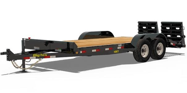 2019 6.10x18 Big Tex Trailers 10ET-18 Car / Racing Trailer