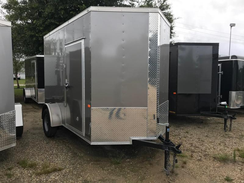 2020 6x10 Rock Solid Cargo Vendor SA VN Enclosed Cargo Trailer