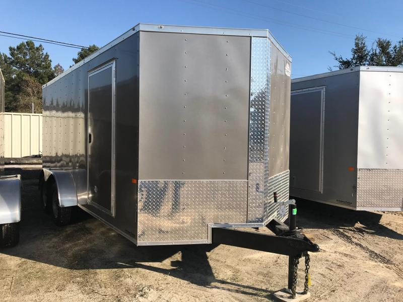 2020 Rock Solid Cargo 7x16 TA VN Enclosed Cargo Trailer