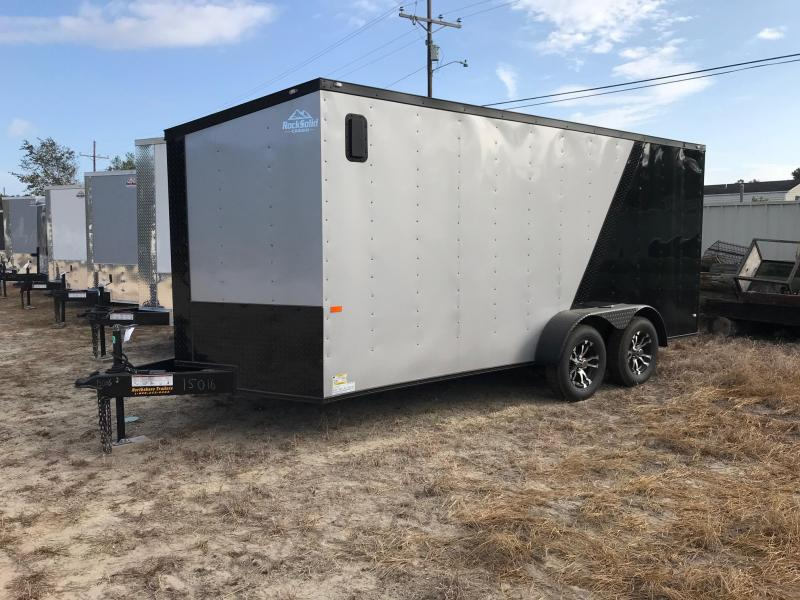 2019 7x16 Rock Solid Cargo TA SVN Enclosed Cargo Trailer