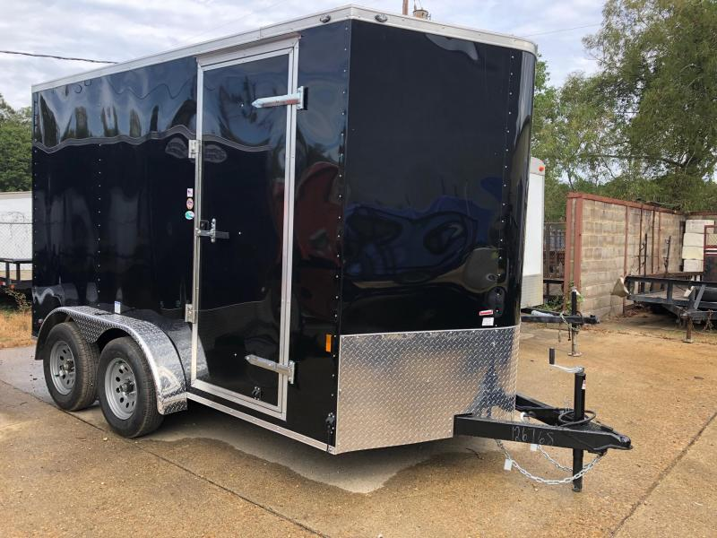 2020 Continental Cargo 12x07 Tandem axle Enclosed Cargo Trailer