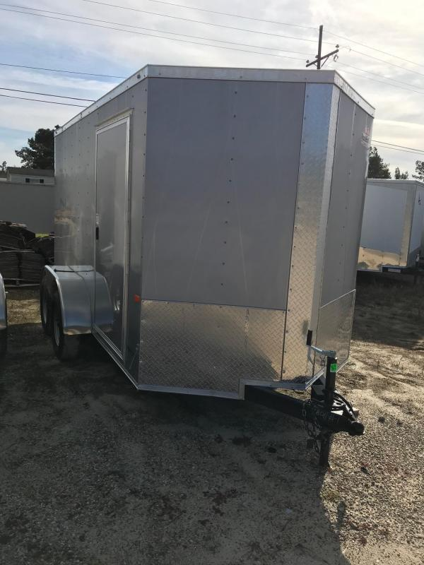 2020 Rock Solid Cargo 6x12 TA VN Enclosed Cargo Trailer