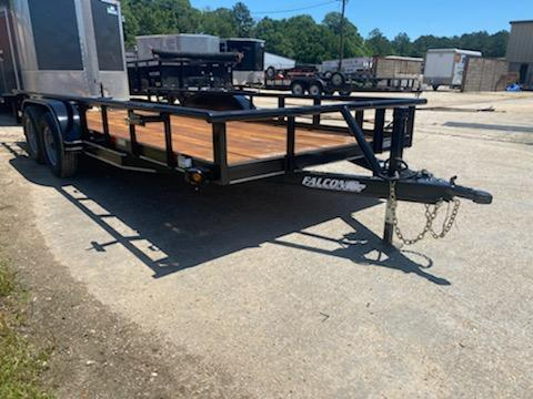 2020 Falcon 18x6.10 SD II Utility Trailer