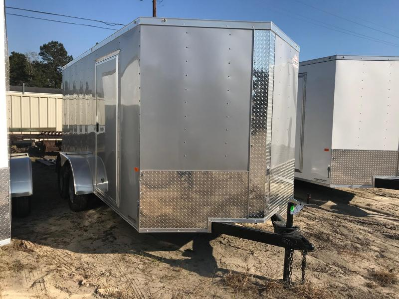 2020 Rock Solid Cargo 7x14 TA VN Enclosed Cargo Trailer