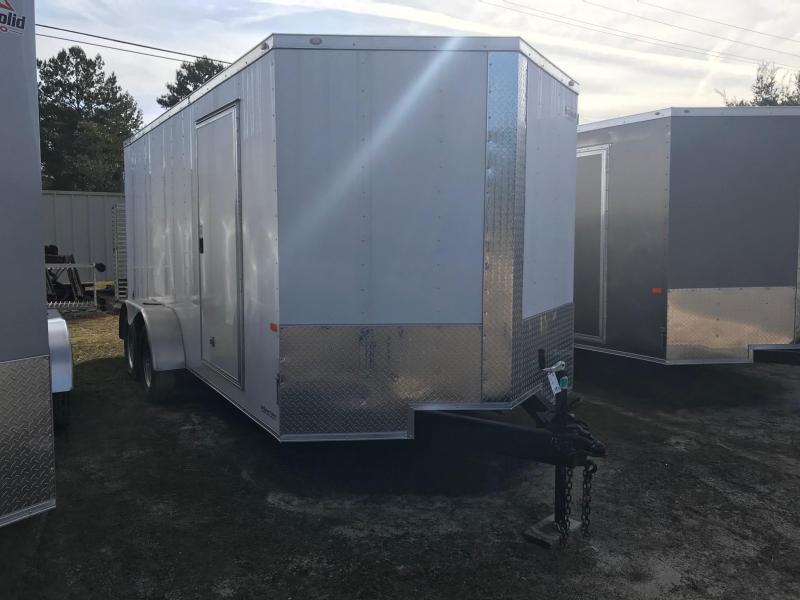 2020 Rock Solid Cargo 7x16 TA VN Enclosed Cargo Trailer