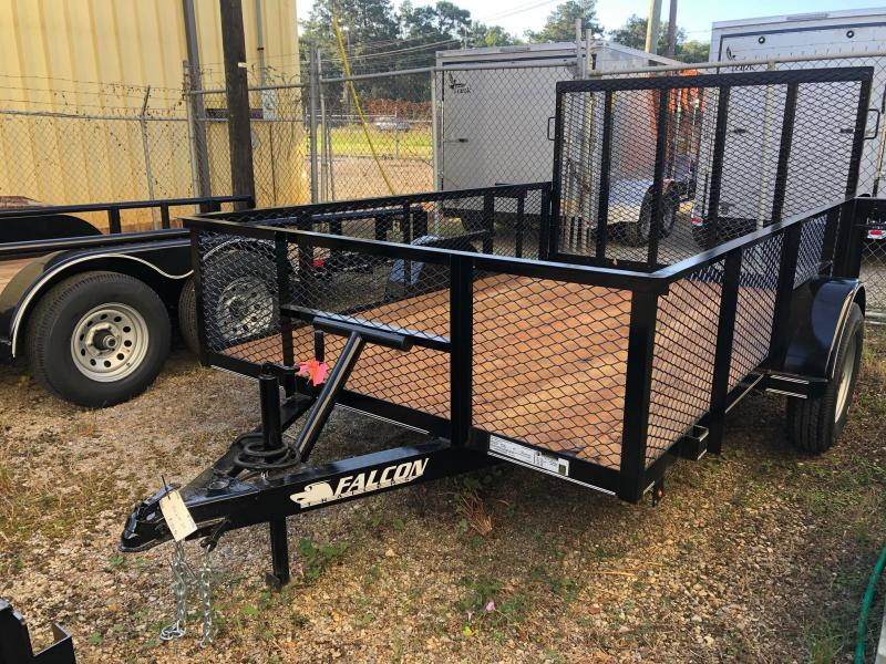 2019 Falcon 10x06.04 Single axle Utility Trailer