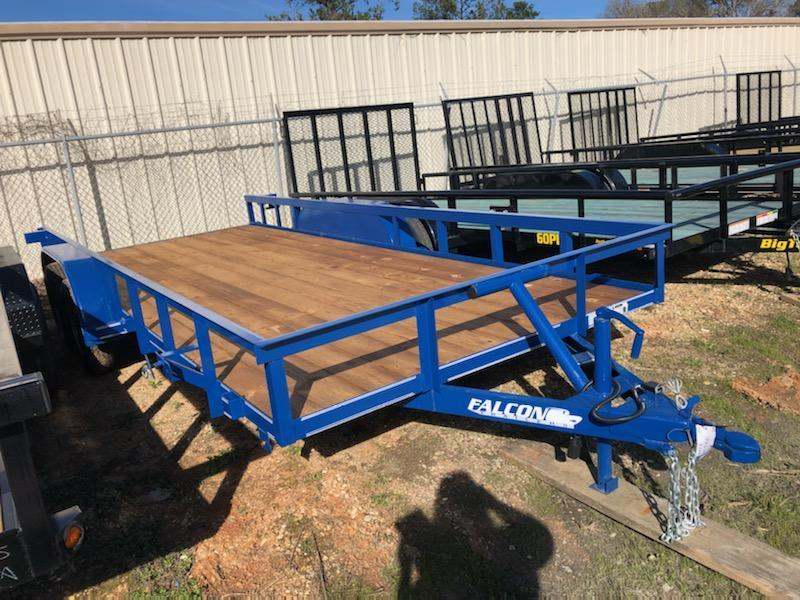 2020 Falcon 18x06.10 SD Utility Trailer