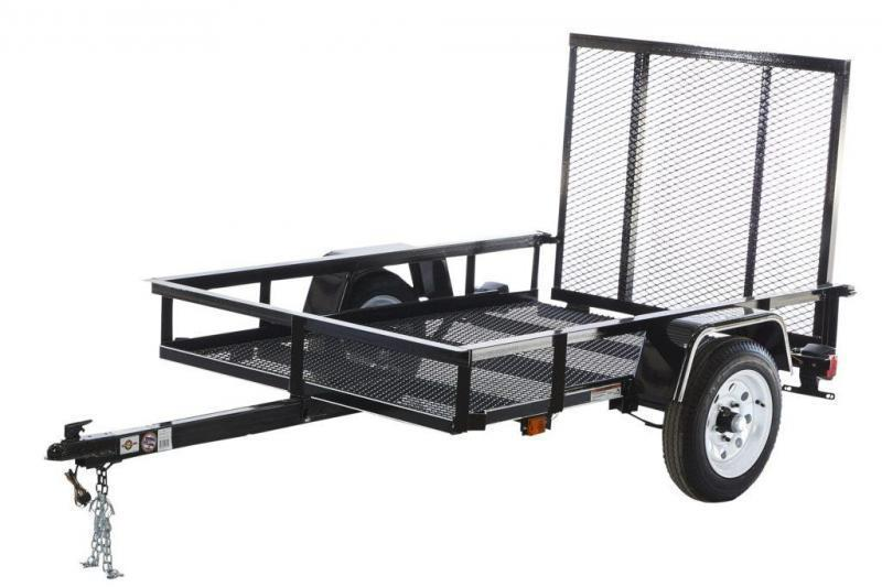 2020 4x6 Carry-On MG Utility Trailer