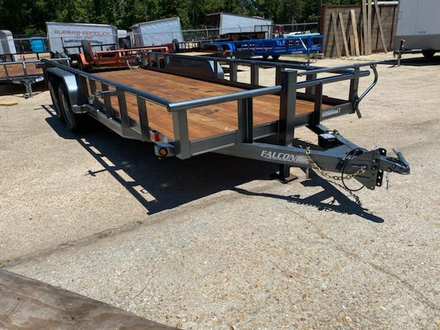2020 Falcon 20x6.10 SPD 1 Utility Trailer