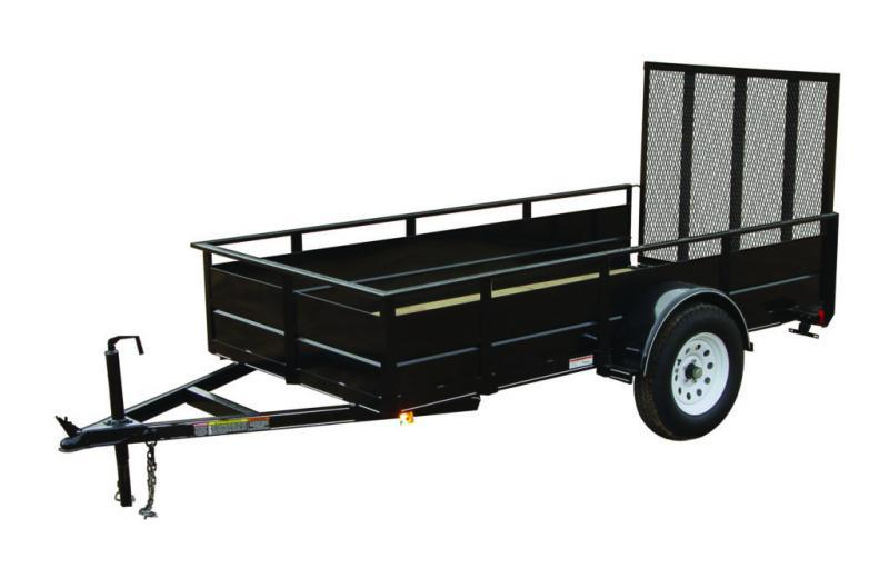 2020 Carry-On 5X10SSG Utility Trailer - 2' solid sides