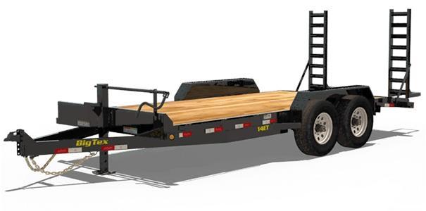2020 6.10x18 Big Tex Trailers 14ET Equipment Trailer