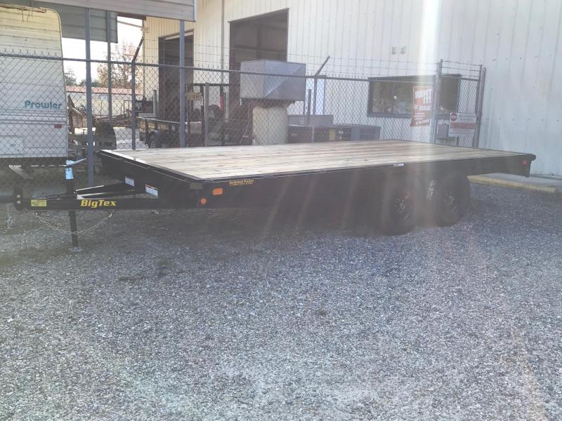 2020 Big Tex Trailers 8.5x16 70 OA Flatbed Trailer