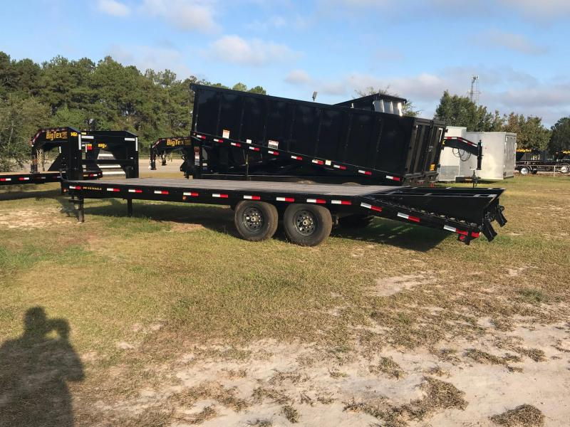 2019 Used 8.5x20+5 Big Tex Trailers 14GN-205 Equipment Trailer