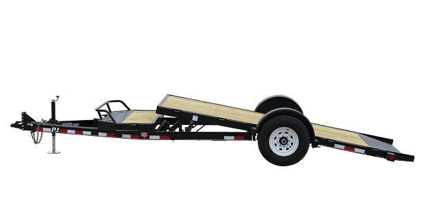 2020 6.10x13 PJ Trailers Single Axle HD Tilt (T1) Equipment Trailer