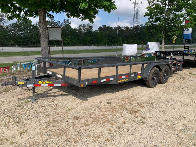 2020 Big Tex Trailers 6.10x20 10PI-20 Equipment Trailer