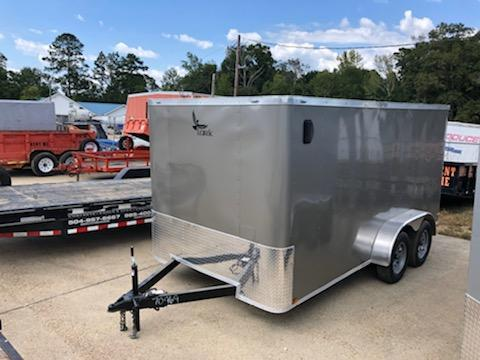 2020 Lark 14x07 TA Enclosed Cargo Trailer