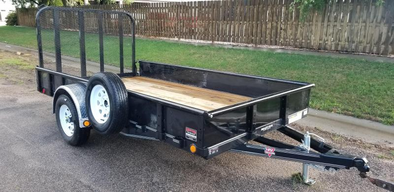 2020 PJ Trailers 12' x 77 in. Single Axle Channel Utility (U7) Utility Trailer