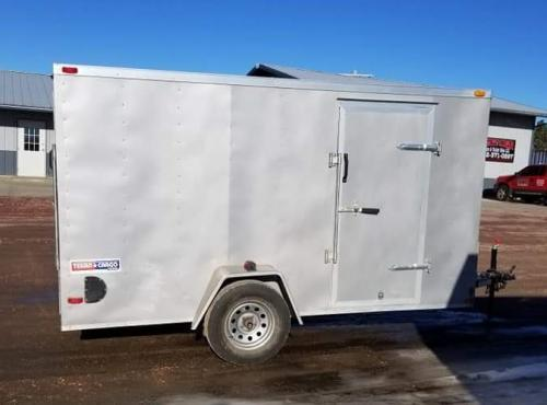 2015 Lark 6' x 12' Texan Enclosed Cargo Trailer