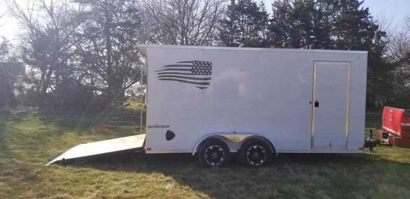 2020 Impact Trailers 7 x 16 Shockwave Enclosed Cargo Trailer