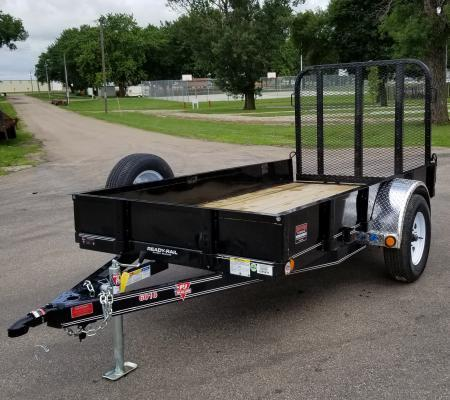 2019 PJ Trailers 10' x 60 in. Single Axle Channel Utility (U6) Utility Trailer