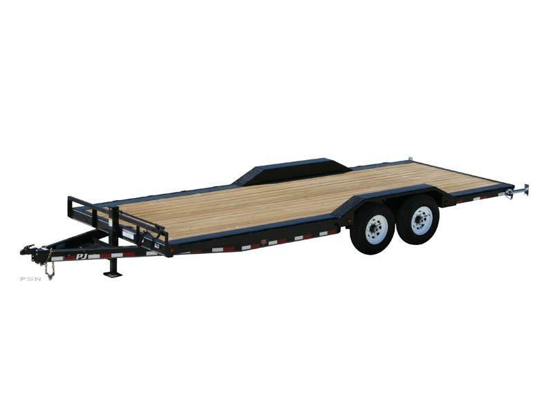 2020 PJ Trailers 22' x 6 in. Channel Super-Wide (B6) Car / Racing Trailer