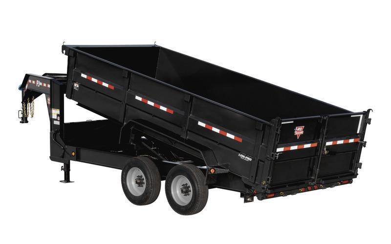 2020 PJ Trailers 16' HD Low-Pro Dump Trailer
