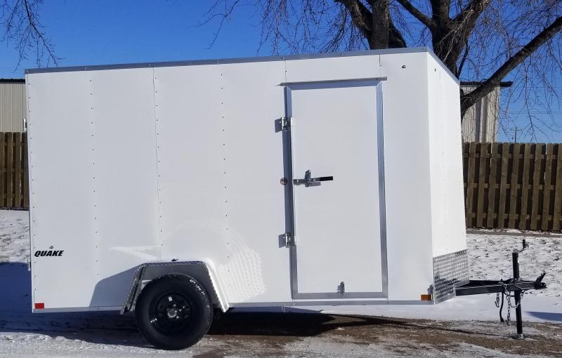 2020 Impact Trailers 6 x 12 Quake Enclosed Cargo Trailer