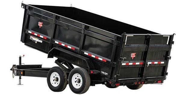 "2020 PJ Trailers 14' x 83"" Low Pro High Side Dump (DM) Dump Trailer"