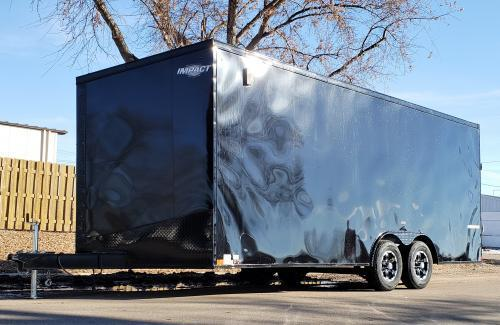 "2019 Impact Trailers Shockwave 20' x 101"" Enclosed Cargo Trailer"