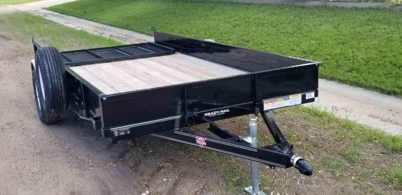 2019 PJ Trailers 14' x 77 in. Single Axle Channel Utility (U7) Utility Trailer
