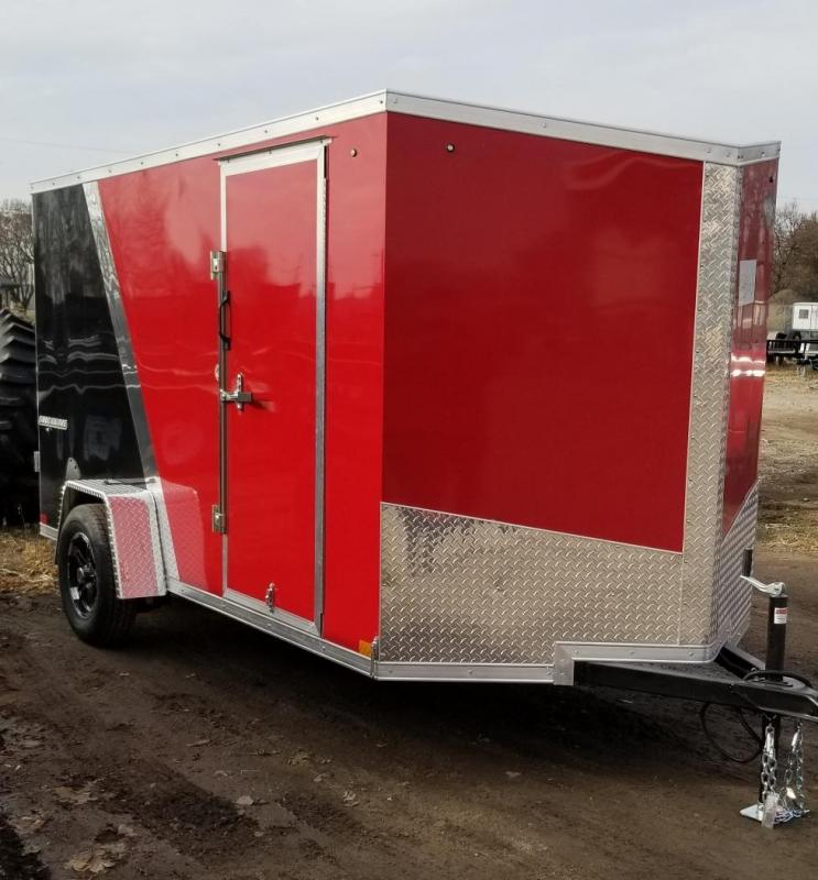 2020 Impact Trailers 6 x 12 Shockwave Enclosed Cargo Trailer