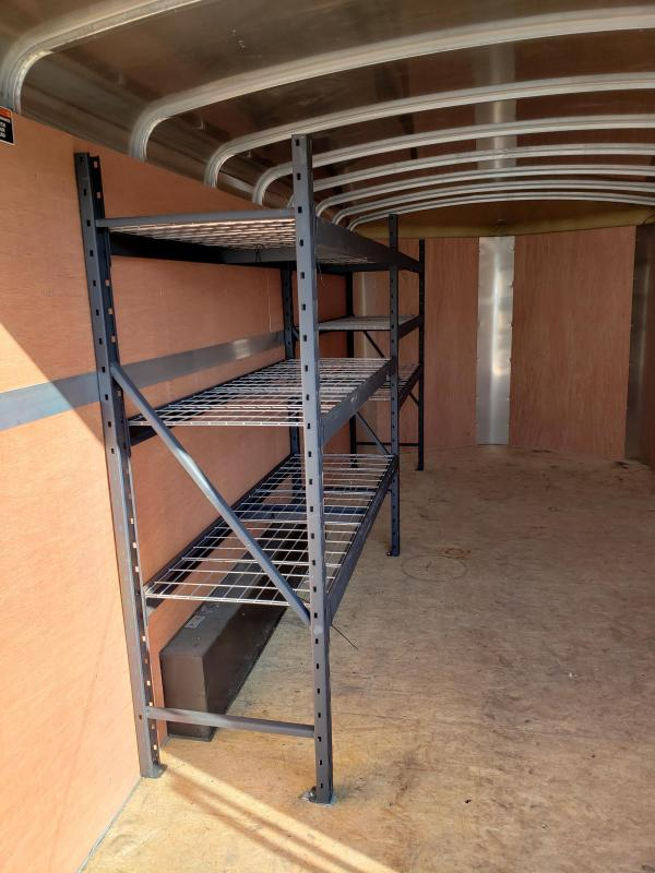 2015 H and H Trailer 101 x 16 CA Series Enclosed Cargo Trailer
