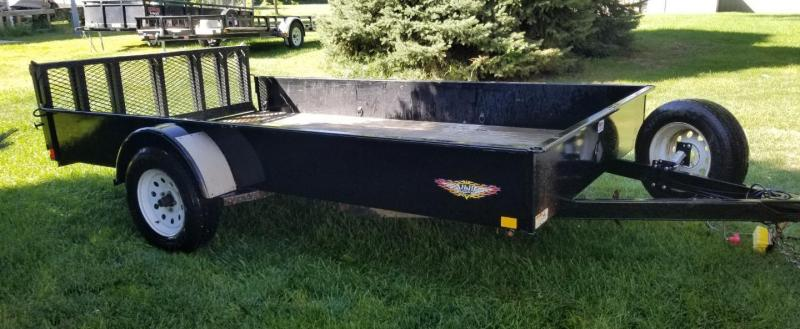 "2015 H and H 12' x 82"" Single Axle Utility Trailer"