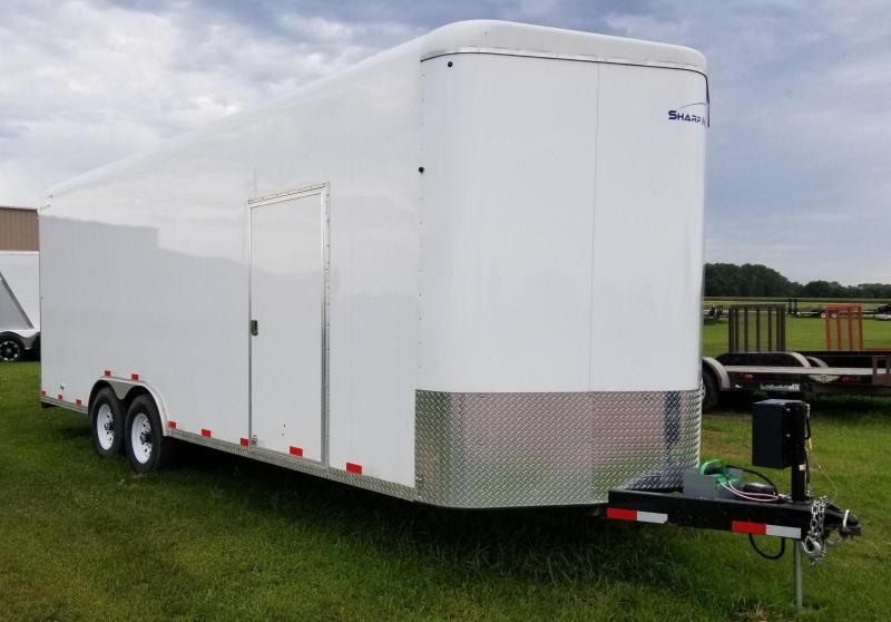 2018 Sharp 22' Enclosed Cargo Trailer