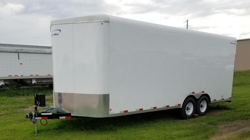2018 Sharp 22' Enclosed Cargo Trailer