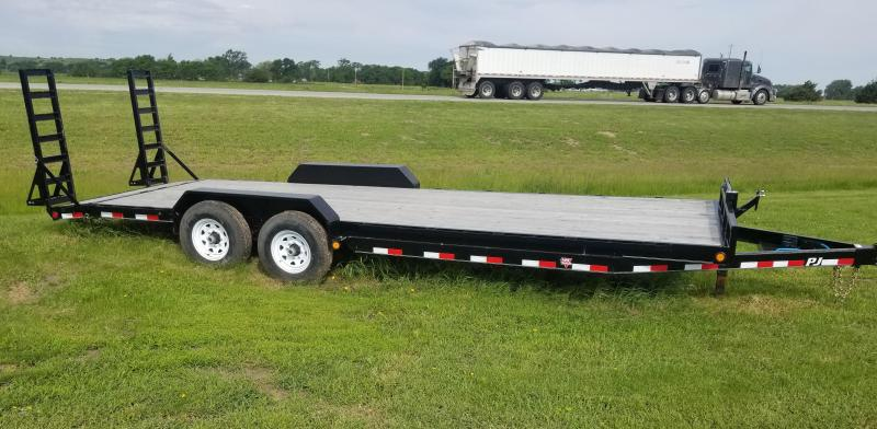2019 PJ Trailers 24' x 6 in. Channel Equipment (CC) Car / Racing Trailer