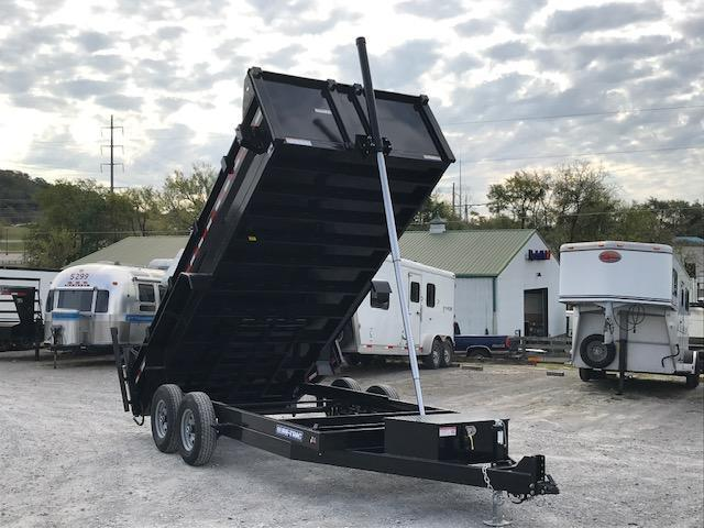 2020 Sure-Trac 82 IN X 16 LP 14K Telescopic Dump