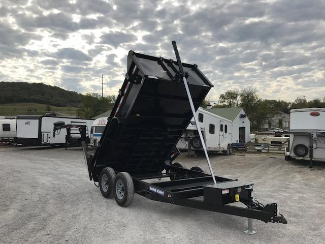 2020 Sure-Trac 82 IN X 12 LProfile 14K Telescopic Dump