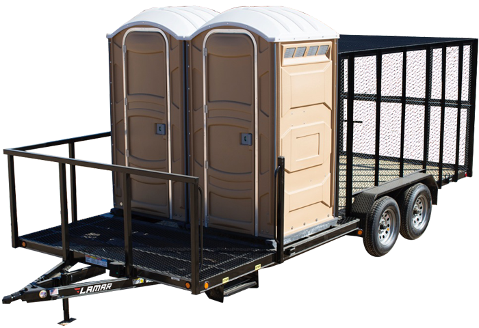 2020 Lamar Trailers Porta Potty Trailer (XP)
