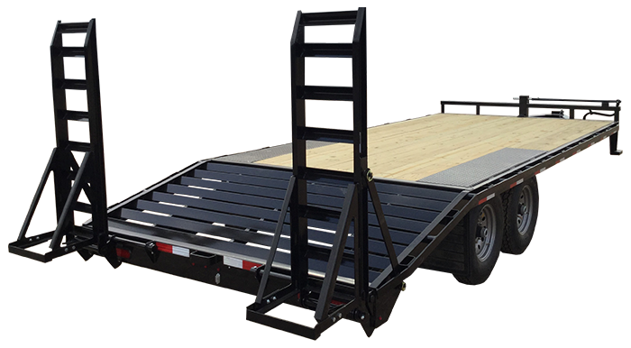 "2019 Lamar Trailers 8"" Deck-Over Flatbed (F8)"