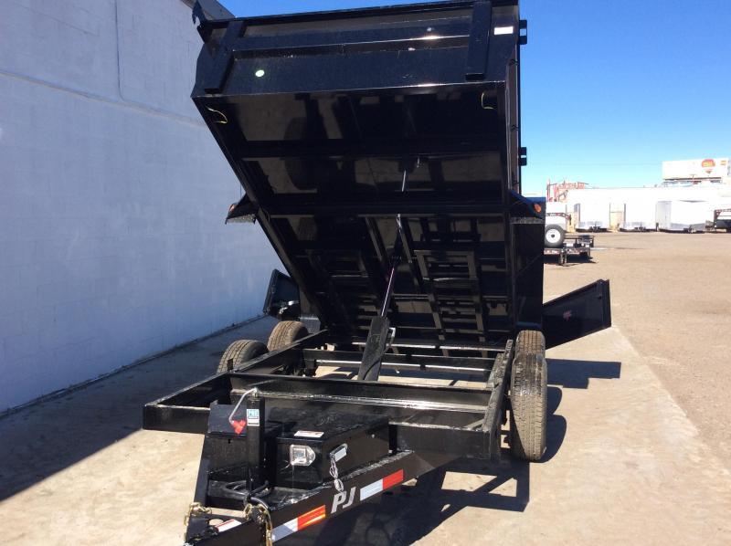 2019 PJ Trailers 72 in. X12ft Tandem Axle Dump  Trailer